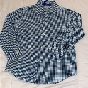 Izod shirt and sweater set